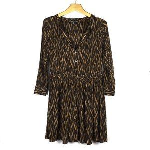 ELIZABETH & JAMES Silk Tunic Shirt Dress \\ Sz 4